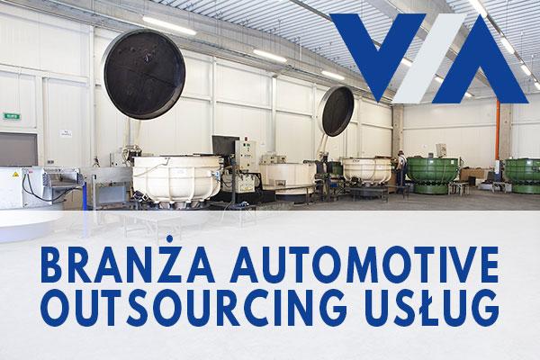 VIA - automotiv outsourcing obróbki powierzchniowej